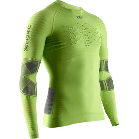 X-Bionic Effektor 4.0 T-shirt Manches longues Powershirt Running Homme, effektor green/anthracite
